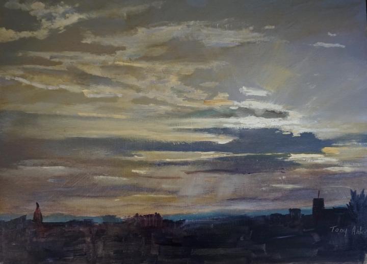 Sunset Over Hertford